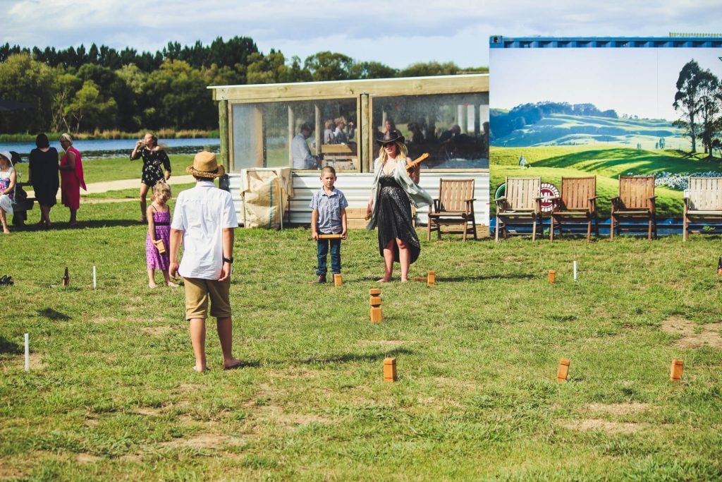 weddings, groups, functions and events at backpaddock lakes