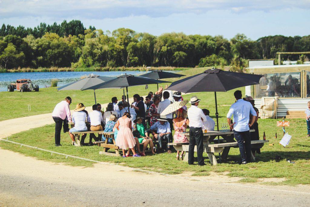 Wedding Catering Options at Backpaddock Lakes